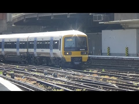 Trains at London Victoria - 13/05/2016