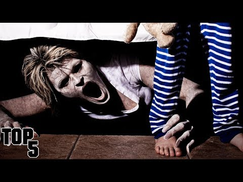 Top 5 Scary Things Hiding Underneath Your Bed
