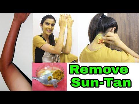 सनटैन कैसे हटाएं | Remove SUNTAN, Face,Hands, Neck,Full Body | 100% Effective