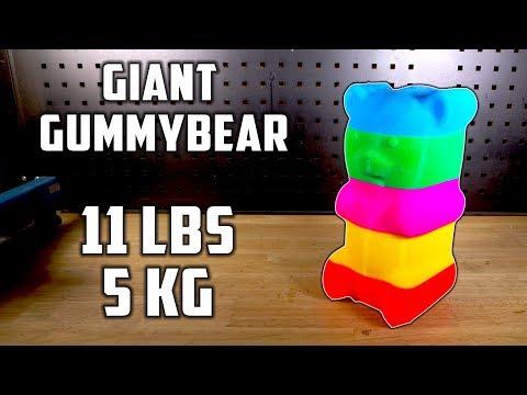 11 lbs homemade Colorful Gummy Bear
