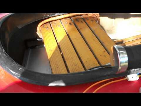 washmachine motor drive small boat canoe 1