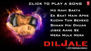 Diljale Movie Full Songs | Ajay Devgn, Sonali Bendre | Jukebox
