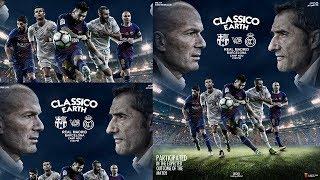 Classico Earth | Football Poster Design (Video Accelerator)