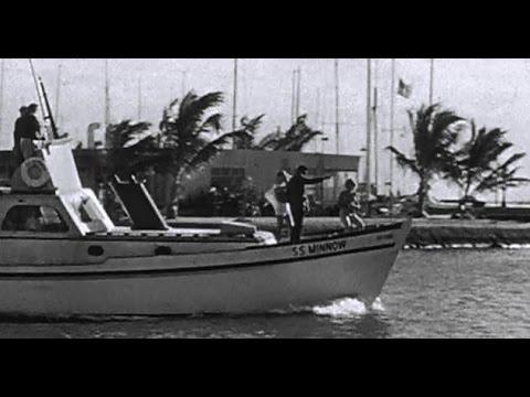 Gilligan's Island intro shows Flag at Half-mast due to JFK Assassination - Nov. 1963