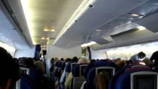 747-400 British Airways, captains announcement
