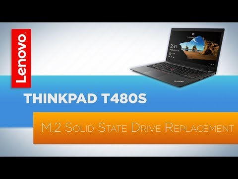 ThinkPad T480s M.2 SSD Replacement