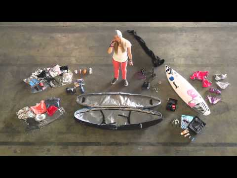 How to pack your Surfboard bag with Blue Tomato Team Rider Lisa Veith