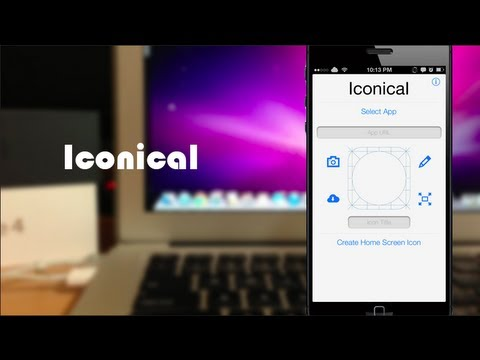 Iconical - Change your App Icons - No Jailbreak!