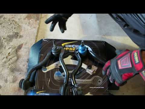 How to replace an upper control arm, bushings and a ball joint to improve the ride
