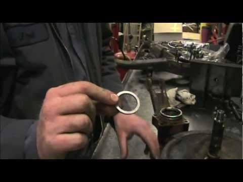 How to rebuild a Corvette rear wheel bearing part 1