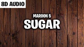 Maroon 5 - Sugar (8D AUDIO)