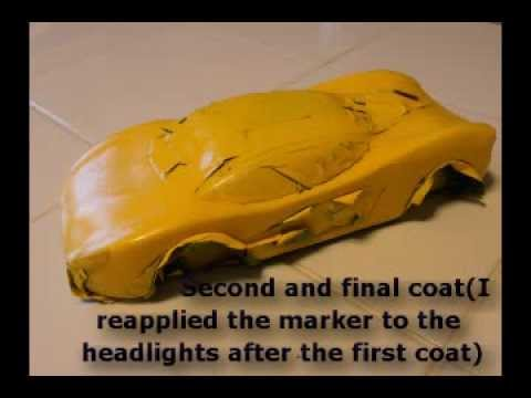 How to Make a Wide-Body Pinewood Derby Car Part 2: The Paint