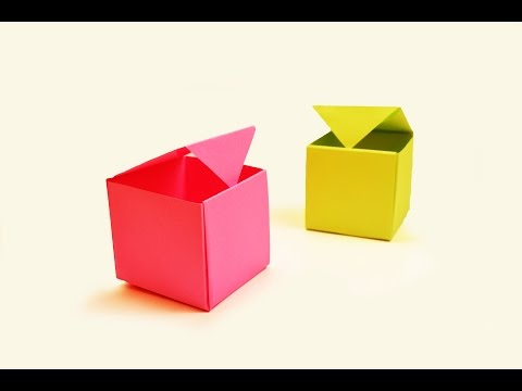How to make a paper Box?