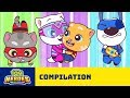 Mad And Mysterious Adventures Of Talking Tom Heroes Cartoon Compilation