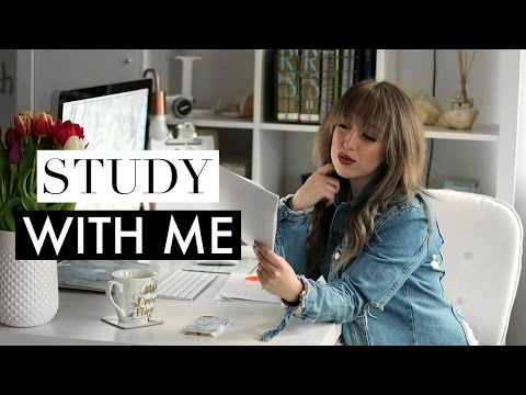 Study With Me #2 ♡ Real Time Motivational Study Session (Law & Philosophy Student)