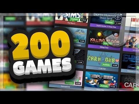 GameOdds.gg - OPENING 200x MYSTERY STEAM GAMES + MASSIVE GIVEAWAY (50,000 Subscriber Special)