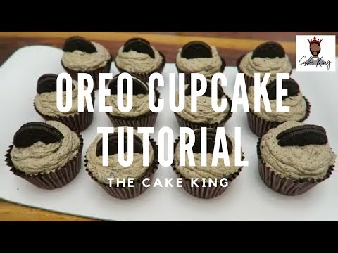 Delicious and Easy Oreo Cupcakes I The Cake King