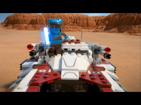 Republic Fighter Tank - LEGO Star Wars - 75182 Product Animation