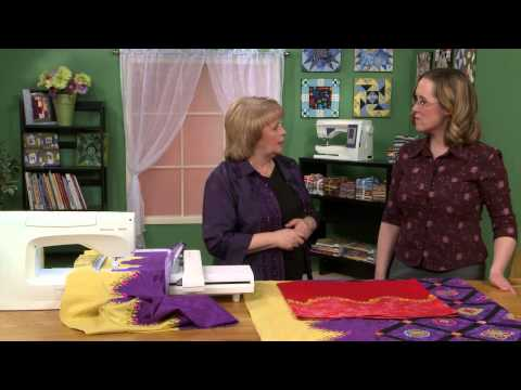 Making Curved Quilt Borders with Karen Charles