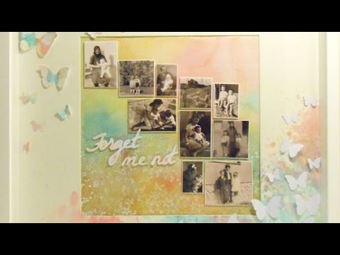 How To Photo Collage In A Frame - DIY Home Tutorial - Guidecentral