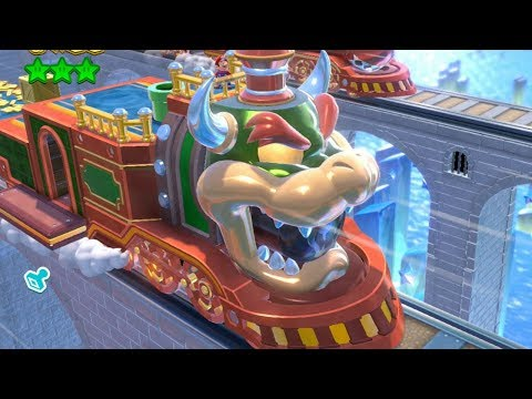 Super Mario 3D World - All Train and Tank Levels