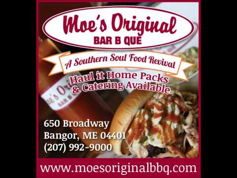 Moe's Original Bar B Que in Bangor's Latest Radio Ad