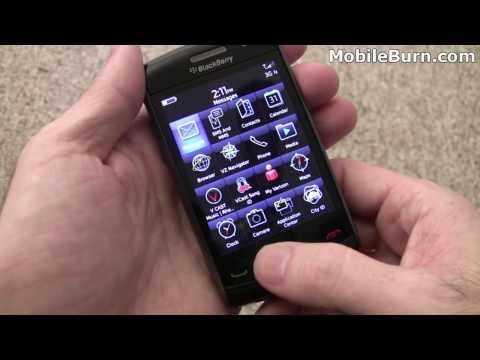 BlackBerry Storm2 for Verizon unboxing