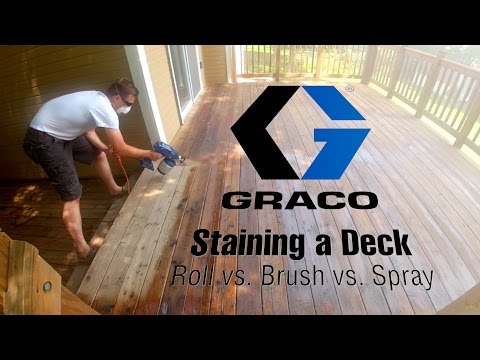 Brush vs Roll vs Spray