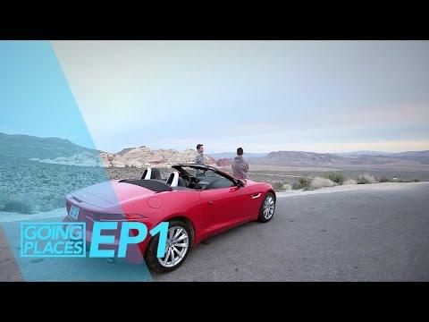 Las Vegas in a Jaguar F Type - Going Places Ep 1