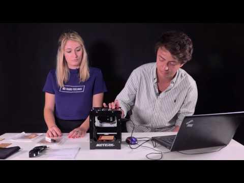 Meterk 1500mW High Speed Miniature Laser Engraver Printer Machine | How to laser engrave