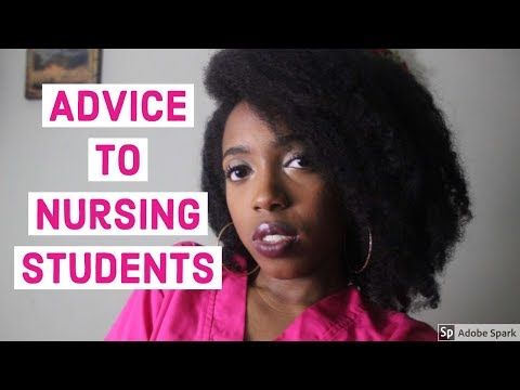 Advice to Nursing Students (LPN edition(