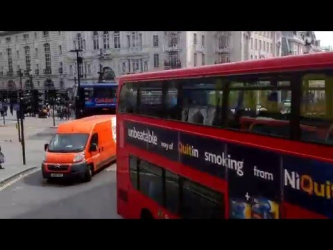 REGENT STREET & PICCADILLY - LONDON - TOURIST DESTINATION