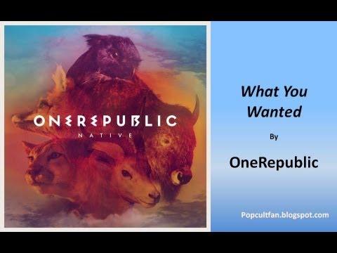OneRepublic - What You Wanted (Lyrics)