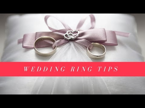 Tips On Buying Your Wedding Ring