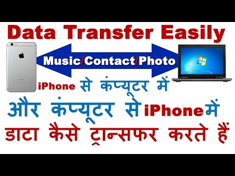 Transfer/Backup Music/Photos/Contacts/SMS from iPhone To PC & from PC to iPhone Easily