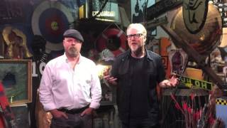 Adam & Jamie discuss the end of Mythbusters
