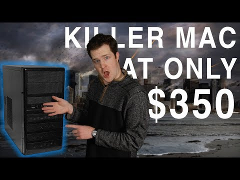 $350 Budget Hackintosh vs $1,300 iMac!