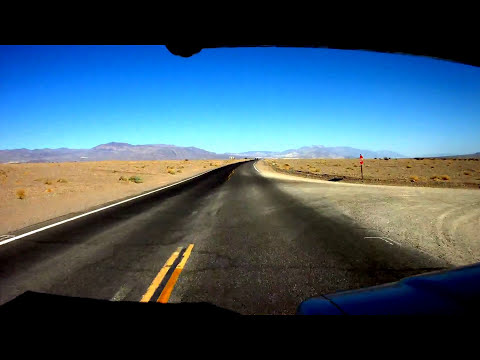 Drive through Death Valley-HD