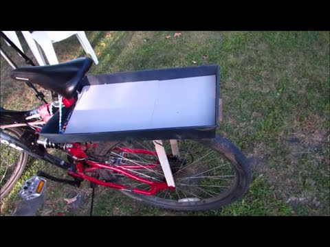 How to Make a Quick and Easy Bicycle Cargo Rack
