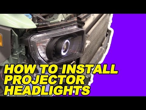 How To Install Projector Beam Headlights