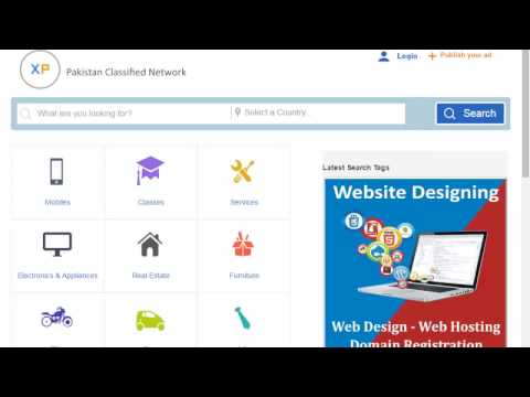 Free Classified in pakistan | how to post a free classifieds website like olx