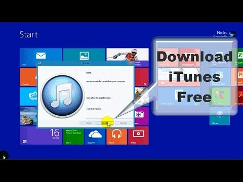 How to Download iTunes to your Computer Free!!! - Windows 8 & Windows 8.1
