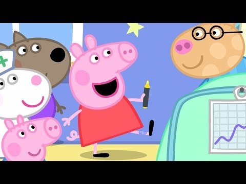 Peppa Pig English Episodes in 4K | Peppa's Hospital Visit! | Cartoons for Children