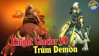 Auto chess Mobile - Bộ Knight Glacier 4 Con 3 Sao Đối Đầu Demon War
