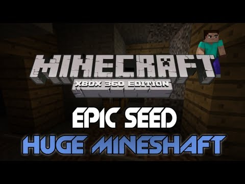Minecraft: Xbox 360 - Awesome Seed | Village Next To Spawn, Huge Mineshaft
