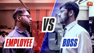 Employee vs Boss - Rapbaazi | Being Indian