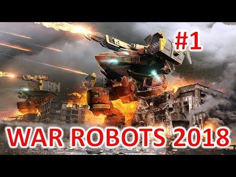 WAR ROBOTS PC 2018 #1 - FREE PVP MECH GAME - STARTING PC GAMEPLAY - KILLING NOOBS