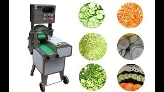 commercial vegetable cutting machine with With Double Frequency Conversion