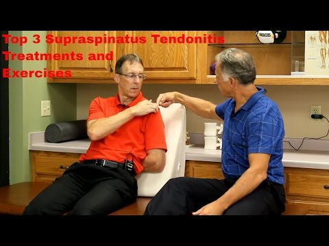 Top 3 Supraspinatus Tendonitis Treatments & Exercise (Do It Yourself)