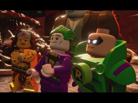 LEGO Batman 3 - 100% Guide #9 - All the Rage (All Collectibles - Minikits, Red Brick etc)